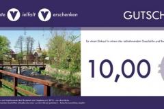 bvv-Geschenkgutschein - Wert 10,00 EUR
