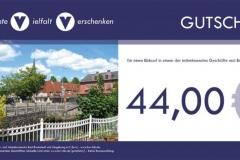 bvv-Geschenkgutschein - Snderwert 44,00 EUR